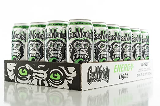Amazon.com : Gas Monkey Energy Drink, Tropical, 16 Ounce, 24 Count : Grocery & Gourmet Food