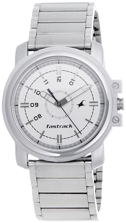 Image result for Fastrack Economy Analog White Men's Watch