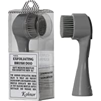 Kohnor Kode Soft Medium Bristles - Exfoliating Brush to Treat and Prevent Razor Bumps and Ingrown Hairs. Eliminate Shaving Irritation for Face, Neck, Armpit, Legs and Bikini Line. For Men and Women
