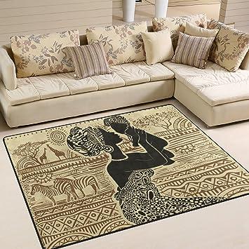 Ingbags Super Soft Schöne Moderne Afrikanischen Schwarz Frau, Ein Wohnzimmer  Teppiche Teppich Schlafzimmer Teppich Für