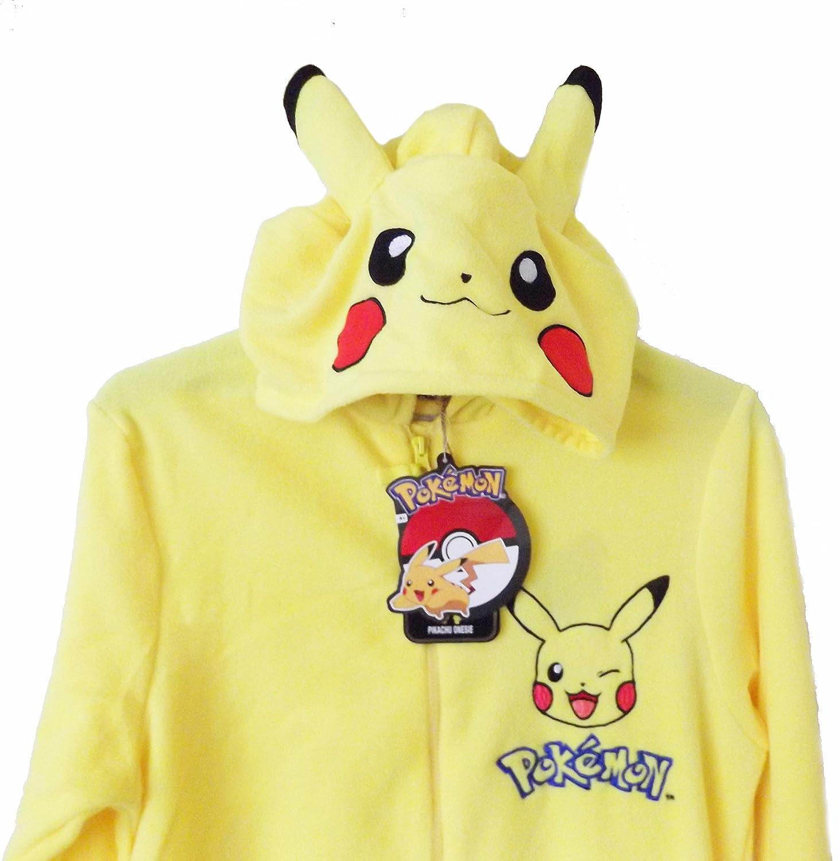 Disfraz pijama de Pikachu para hombre amarillo Yellow/Pokemon: Amazon.es: Ropa y accesorios