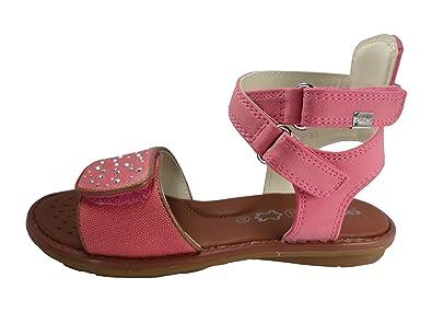 cc7d17e4246f Amazon.com  Geox Jr Sandal Milk Girls Fuchsia  Clothing