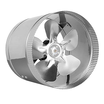 Amazon Com 8 Inline Fan 400 Cfm Metal Duct Booster Fan Etl