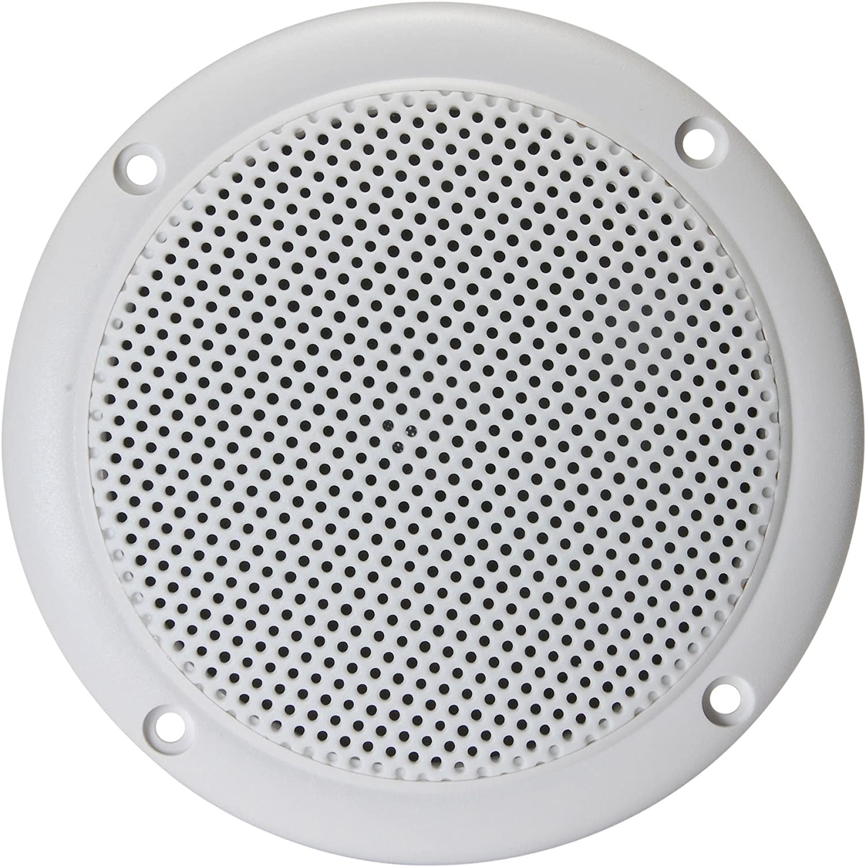 Visaton Full Range Waterproof Speaker 10cm 20w 4 Ohm White VS-FR10WP//4