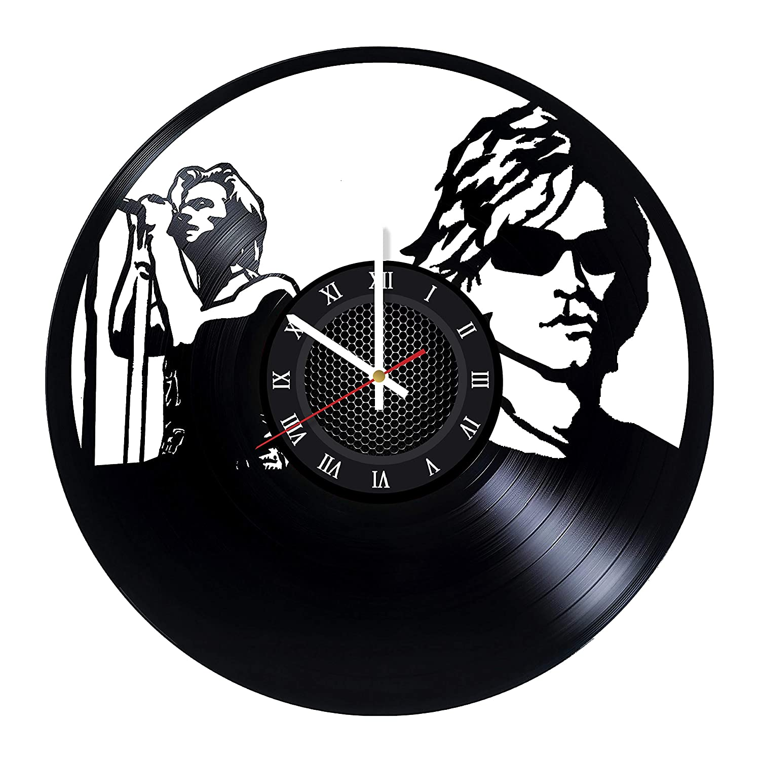 amazon whatsup store bon jovi rock band art vinyl record wall Bon Bon Cat The Barking amazon whatsup store bon jovi rock band art vinyl record wall clock wonderful bedroom or bathroom wall art decoration fancy gift idea for his or