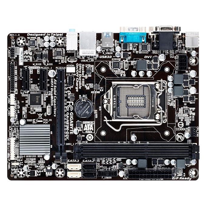 Image result for Gigabyte 4Th Generation (OEM) Brown Box USB 3.0 4X Motherboard