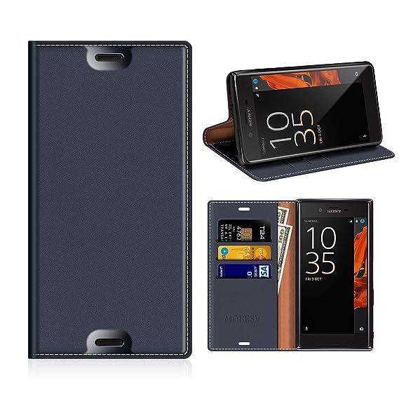 buy popular db682 639cd Amazon.com: Sony Xperia XZs Wallet Case, Mobesv Sony Xperia XZs ...
