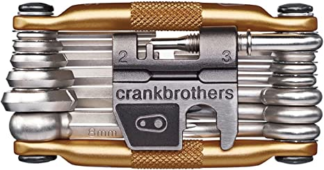 NEW Gold 19 Bike Tools Crank Brothers M19 Multi Tool for Bicycle
