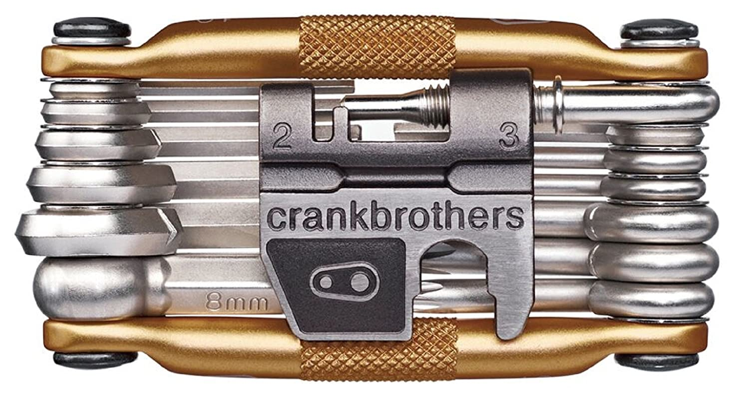 CRANKBROTHERs Multi-Tool – Steel Bike Tool, Torx, Hex and Chain Tool Compatible M19, M17, M10, M5