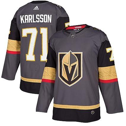 adidas Vegas Golden Knights William Karlsson Authentic Pro Jersey Storm Grey  (52 L) dc2703d5d