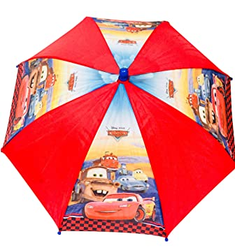 Amazon Com Disney Cars Lightning Mcqueen Umbrella And Minecraft