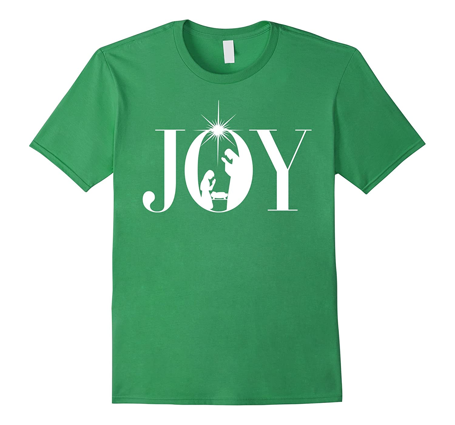 Christian Christmas Joy Shirt - Nativity Scene Star Manger-ANZ ...