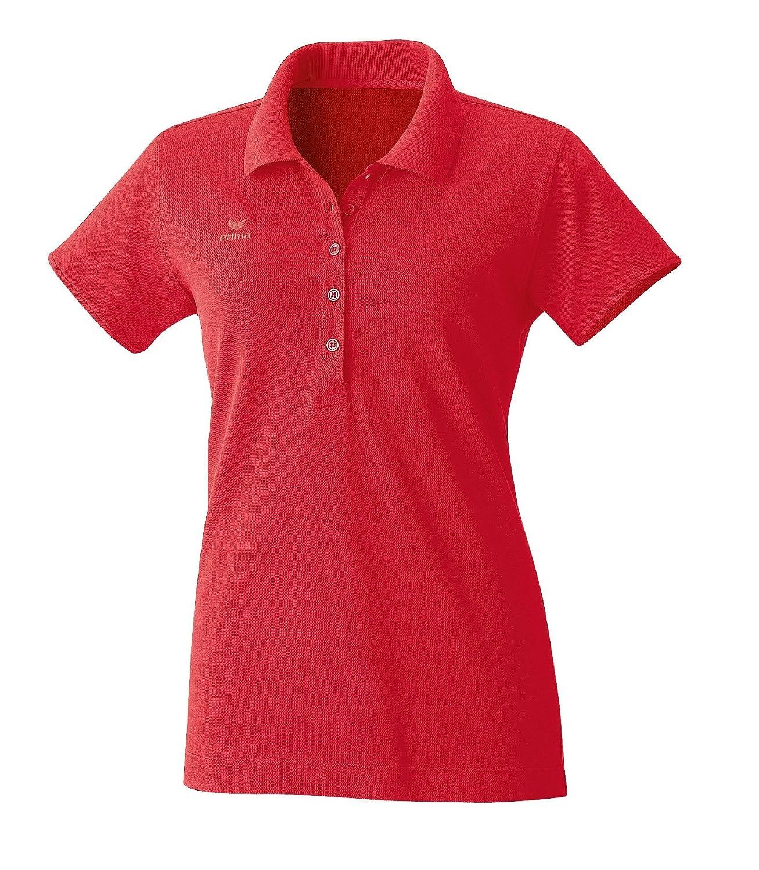 Erima Damen Basic Line Polohemd rot 44 211923