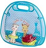 Sophie la girafe - Set de cesta de baño con ventosa y juguetes de baño (Vulli 523421)