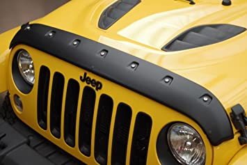 Auto Accessories Dealer Tough Guard Hood Textured Protector for Jeep Wrangler JL 2018+