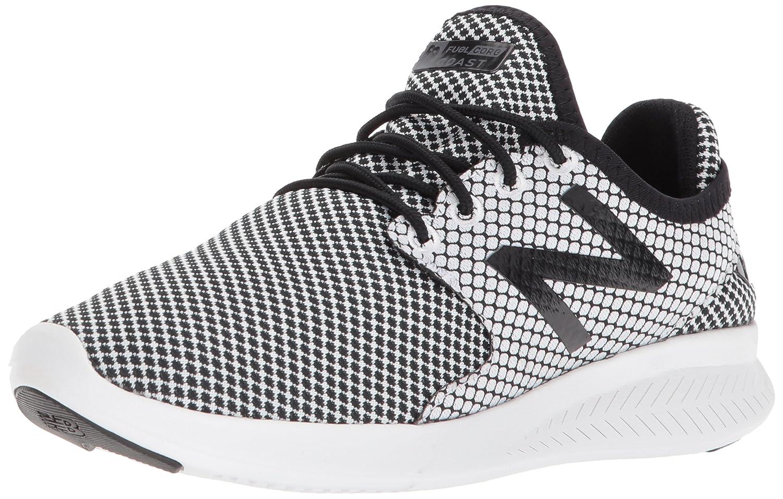 New Balance Women's Coast V3 Running-Shoes B06XSFQCCS 5 B(M) US|Black/White