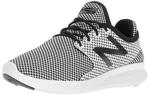 New Balance Womens FuelCore Coast V3 Running Shoe, Black/White, ...