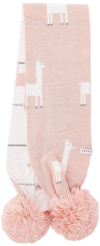 Talla del fabricante: 1SIZE Talla /única Esprit Kids Rp9004109 Knit Scarf Bufanda Rosa Light Blush 306 para Beb/és