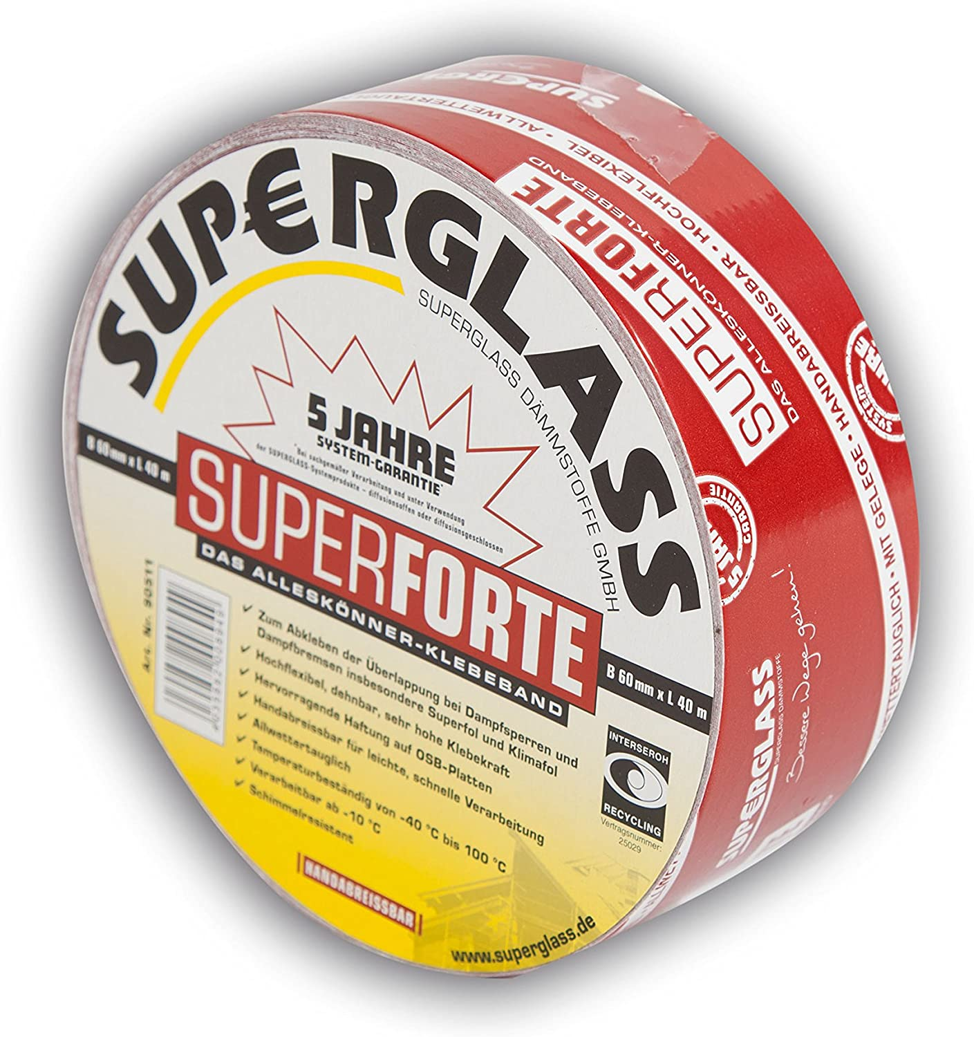 Superforte Klebeband 60 mm x 40 m