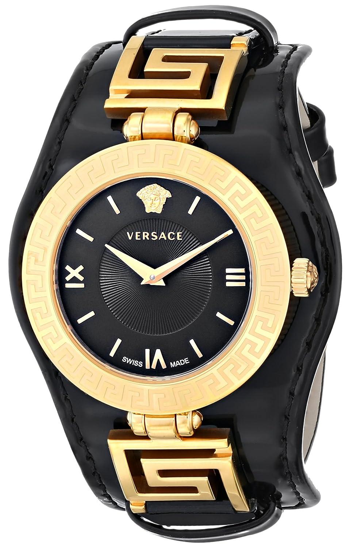 Amazon versace womens vla020014 v signature analog display amazon versace womens vla020014 v signature analog display swiss quartz black watch versace watches biocorpaavc Gallery