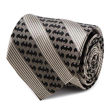 DC Comics Batman - Corbata de rayas negras, producto oficial ...