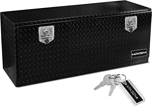 Underbody Tool Box 24 Aluminum Flatbed Storage Weather Resistant Seal ARKSEN New