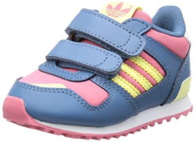 timeless design 0d1e9 fcc9f adidas Originals ZX 700 CF I Trainers Girls Pink Pink (BLIPNK STSTO) Size
