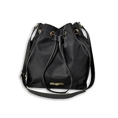 Karl Lagerfeld Elise Drawstring Crossbody Bucket Bag
