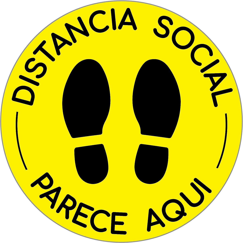 6 Pack Social Distancing Floor Decals