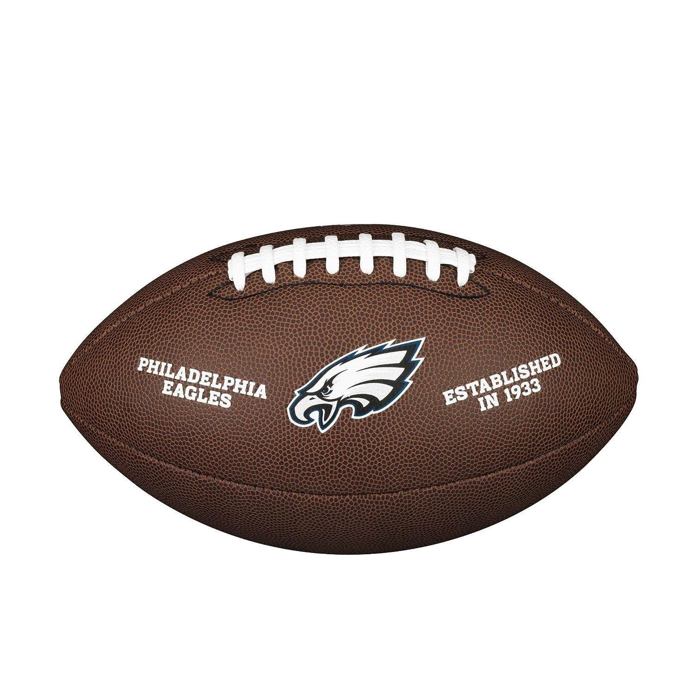 Wilson Philadelphia Eagles Logo officiel de football WTF1748PHIL