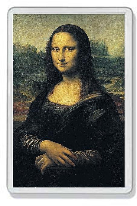 AWS marco Imán de PVC la Gioconda Monna Lisa de Leonardo da Vinci ...