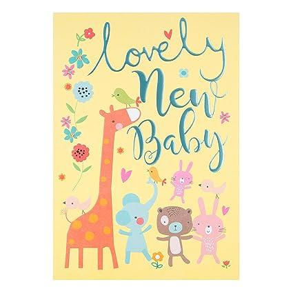 Hallmark – Tarjeta de felicitación por nuevo bebé Tarjeta de Happy para You – Medium
