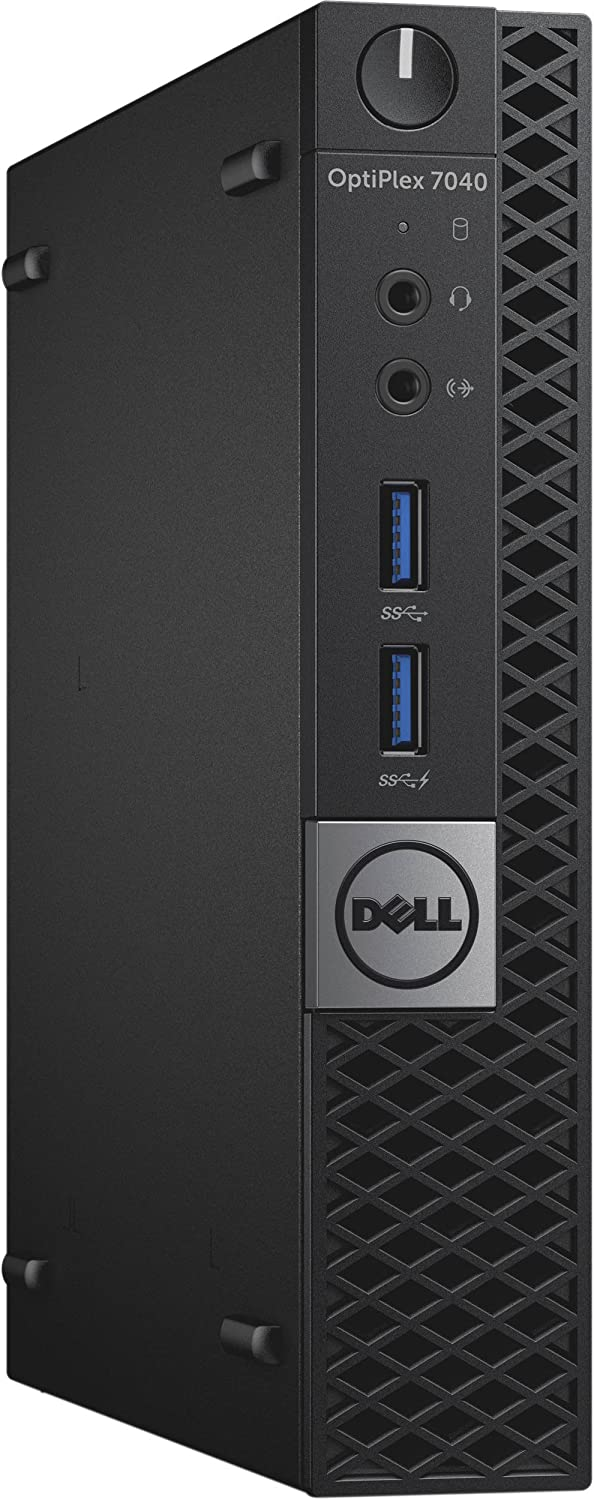 Dell Optiplex 7040 Micro Tower, Intel Core i5-6500T, 8 GB Memory, 256 GB SSD, WIFI, Windows 10 Pro (Renewed)