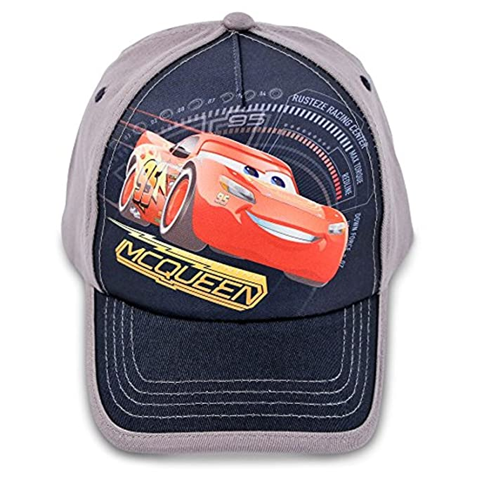 64a65388b54 Image Unavailable. Image not available for. Color  Disney Toddler Boys Cars  Lightning McQueen Cotton Baseball Cap ...