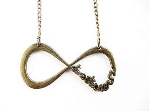 Amazon Ancient Bronze Infinity Necklace Infinity Symbol