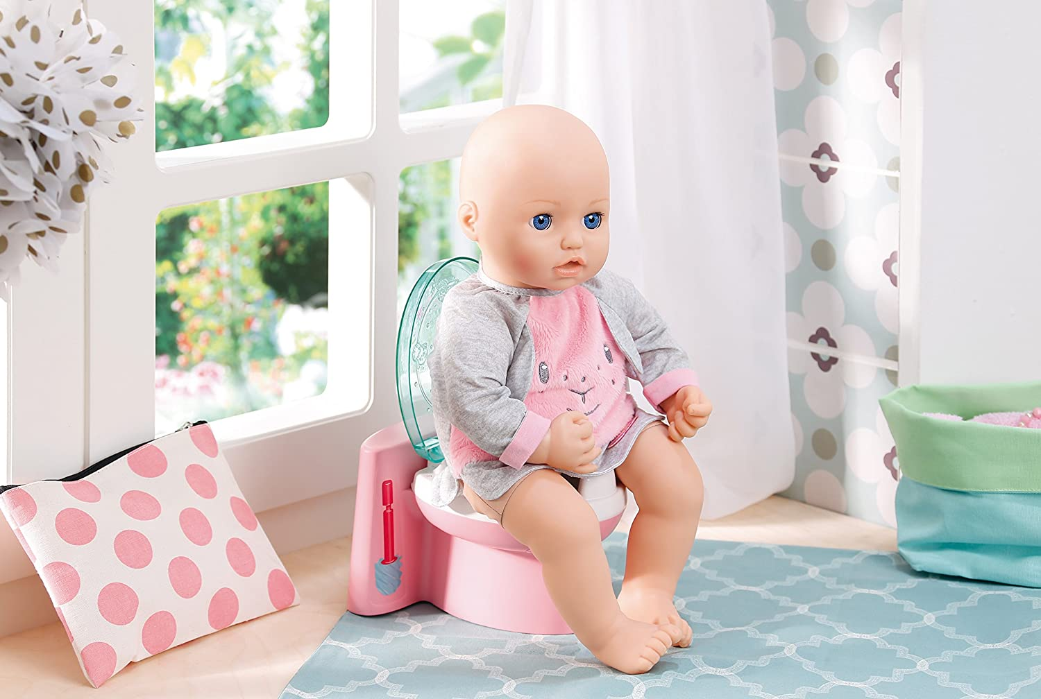 Baby Annabell 700723 Fancy Toilet  Amazon.co.uk  Toys   Games c6440034698ab