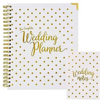 Amazon.com: Paquete organizador y planificador de boda ...