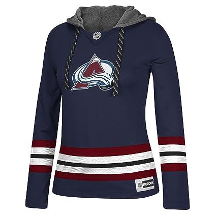 cff1581bc84 Amazon.com   adidas NHL Women s Jersey Crewdie Sweatshirt   Sports ...