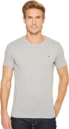 Simple Tommy Hilfiger Mens Short Sleeve Crew Neck Stripe Tee