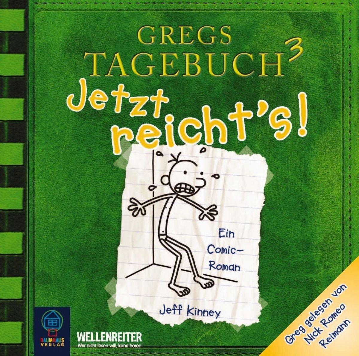 Gregs Tagebuch 3   Jetzt Reicht's