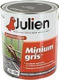 Julien 101004 Minium Gris Peinture antirouille 2,5 L Mat