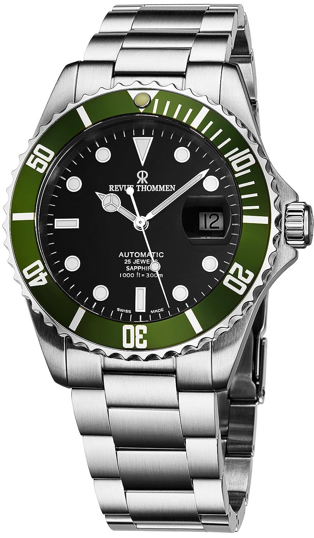 Amazon.com: Revue Thommen Diver Watch Automatic Mens - 42mm ...