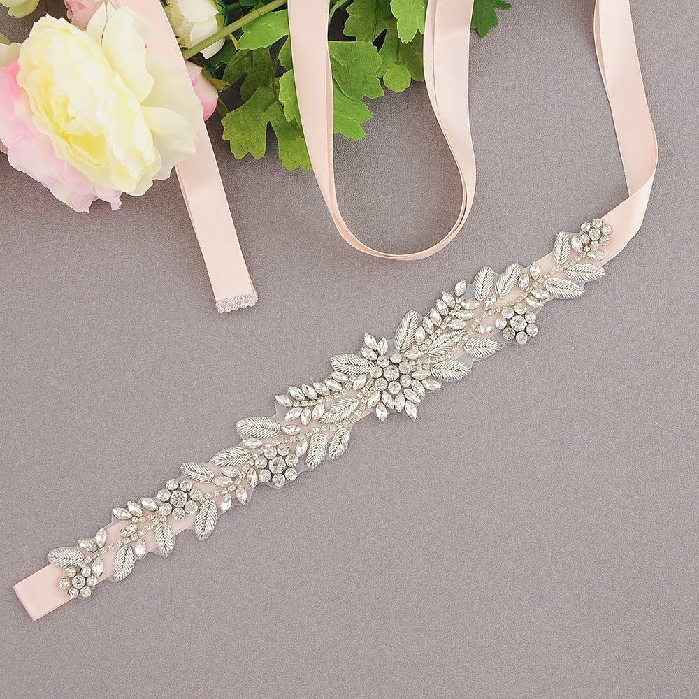 Azaleas Wedding belts with crystals mermaid wedding dress with belt Bridal Sashes Wedding Belts Sash