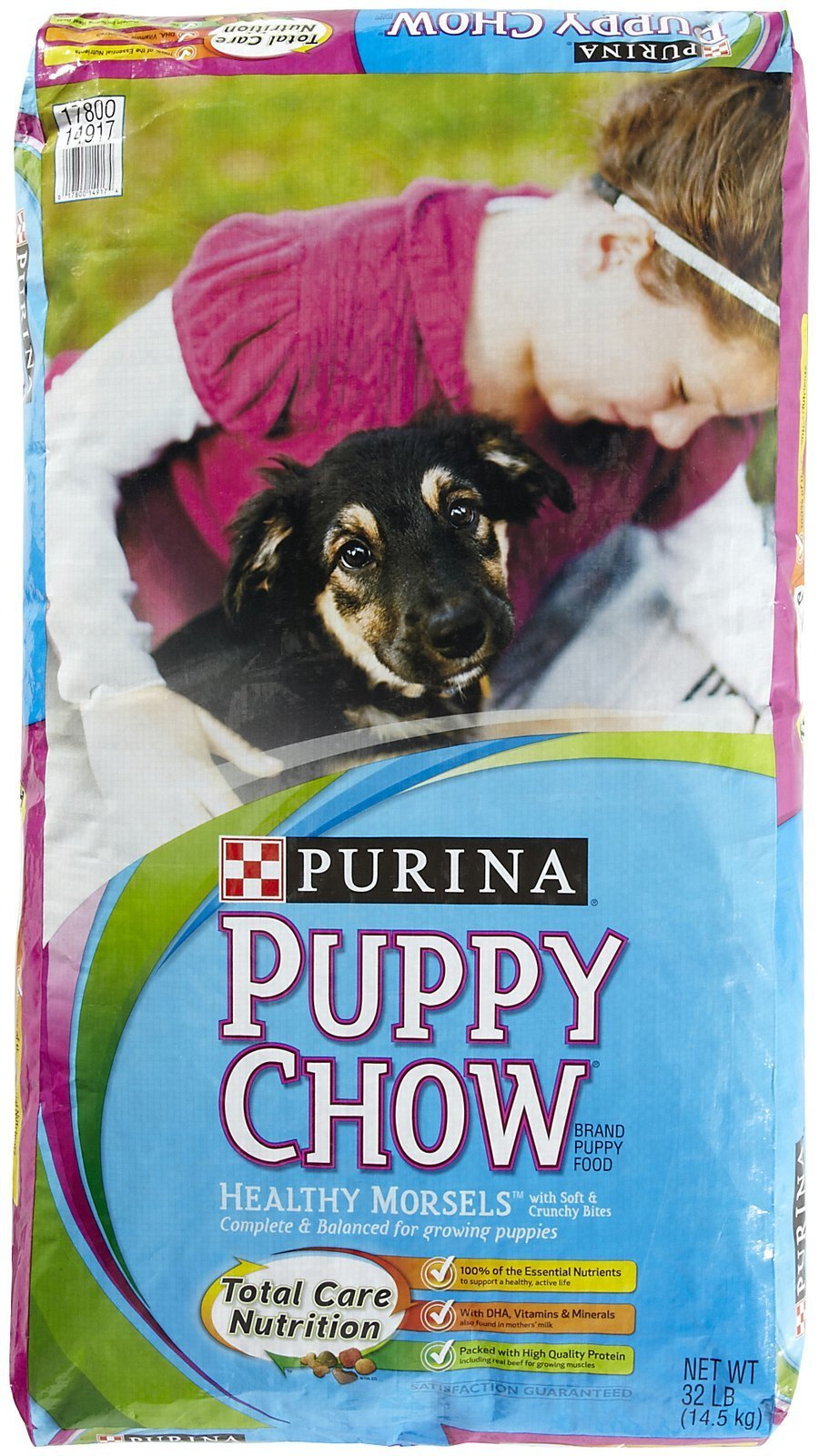 Purina 178112 Puppy Chow Healthy Morsels, 32-Pound by Purina