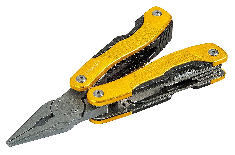 Stanley STHT0-28111 De tamaño completo 12tools Negro, Amarillo alicate multiherramienta - Alicates de múltiples herramientas (Negro, Amarillo): Amazon.es: ...