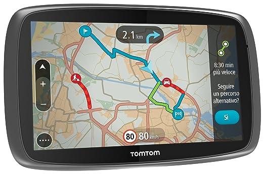 """148 opinioni per TomTom GO 610 World GPS per Auto 6"""" con Segnalazione Traffico, Tutor e Autovelox"""