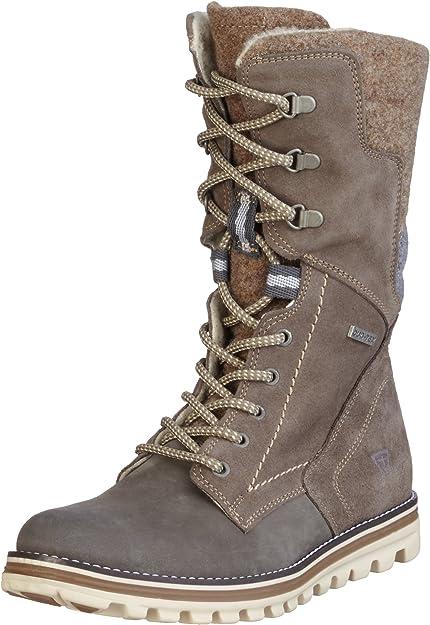 Tamaris 26269, Women's Snow Boots, Brown (Taupe Comb 344), 4