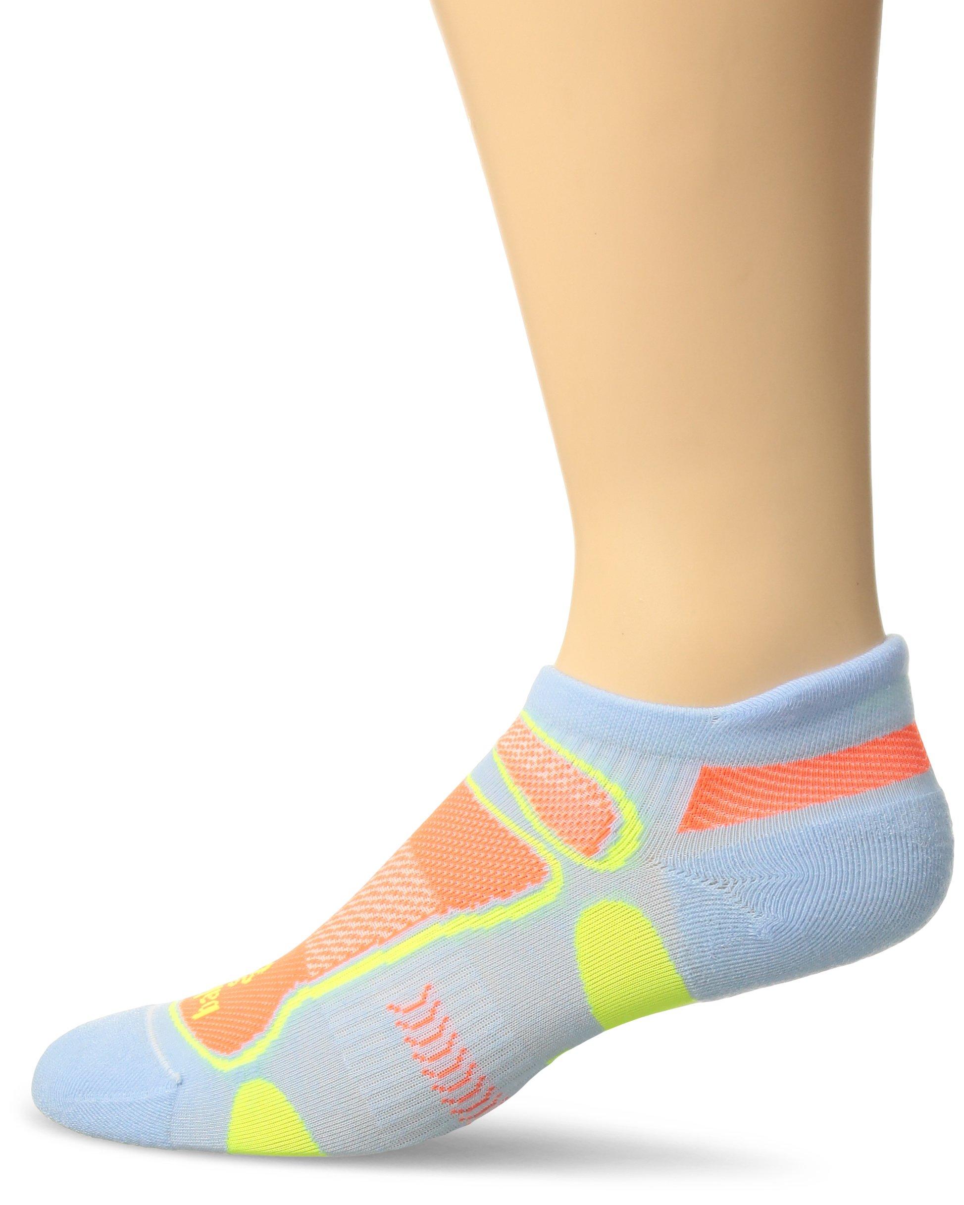 Balega Ultralight No Show Athletic Running Socks for Men and Women (1-Pair), Cool Blue, Small