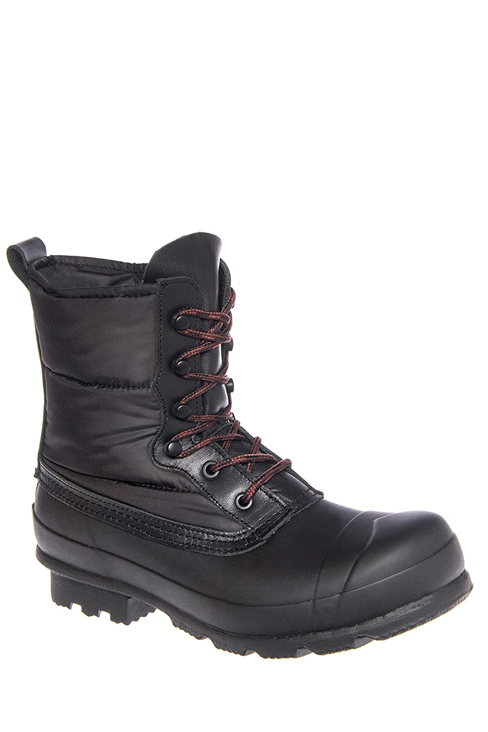 Hunter Boots Quilted Lace Up Snow Boots Black