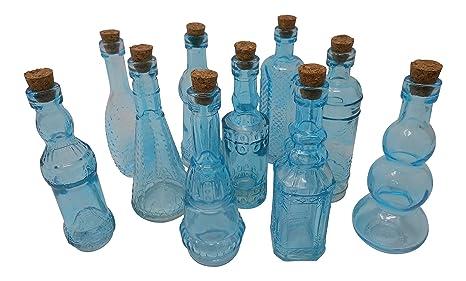 Amazon.com: clásico – Botellas de Vidrio con Tapón de Corcho ...
